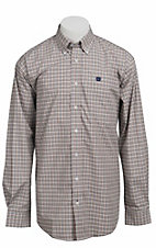 Cinch L/S Mens Fine Weave Shirt 1103652