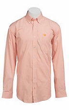 Cinch L/S Mens Fine Weave Shirt 1103653