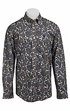Cinch L/S Mens Fine Weave Shirt 1103657