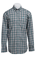 Cinch L/S Mens Fine Weave Shirt 1103678