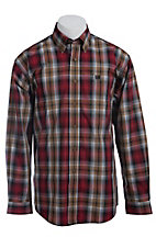 Cinch L/S Mens Fine Weave Shirt 1103690