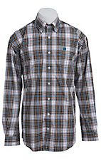 Cinch L/S Mens Fine Weave Shirt 1103691