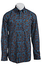 Cinch L/S Mens Fine Weave Shirt 1103696