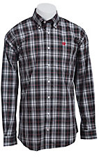 Cinch L/S Mens Fine Weave Shirt 1103702