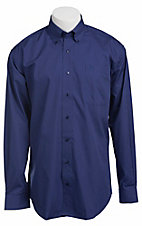 Cinch L/S Mens Solid Fine Weave Shirt 1103714