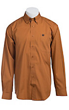 Cinch L/S Mens Solid Fine Weave Shirt 1103729