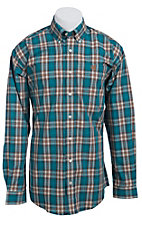 Cinch L/S Mens Fine Weave Shirt 1103730