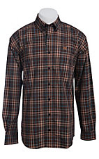 Cinch L/S Mens Fine Weave Shirt 1103731
