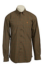 Cinch L/S Mens Fine Weave Shirt 1103732