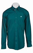 Cinch L/S Mens Solid Fine Weave Shirt 1103756