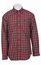 Cinch L/S Mens Fine Weave Shirt 1103757