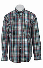 Cinch L/S Mens Fine Weave Shirt 1103758