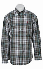 Cinch L/S Mens Fine Weave Shirt 1103760