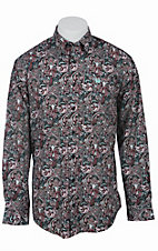 Cinch L/S Mens Fine Weave Shirt 1103764