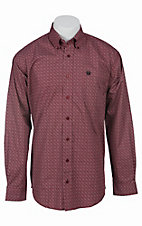 Cinch L/S Mens Fine Weave Shirt 1103765