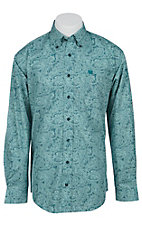 Cinch L/S Men's Fine Weave Shirt 1103768