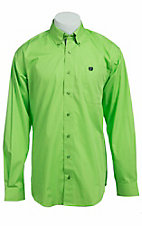 Cinch L/S Mens Solid Fine Weave Shirt 1103770