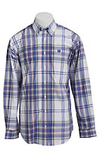 Cinch L/S Men's Fine Weave Shirt 1103785
