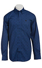 Cinch L/S Men's Fine Weave Shirt 1103793
