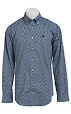 Cinch L/S Men's Fine Weave Shirt 1103794