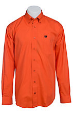 Cinch L/S Mens Solid Fine Weave Shirt 1103803