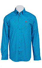 Cinch L/S Men's Fine Weave Shirt 1103814