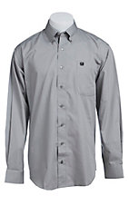 Cinch L/S Mens Solid Fine Weave Shirt 1103831