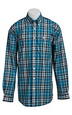 Cinch L/S Men's Fine Weave Shirt 1103832