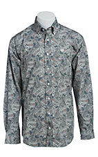 Cinch L/S Men's Fine Weave Shirt 1103840