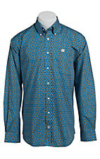 Cinch L/S Men's Fine Weave Shirt 1103893