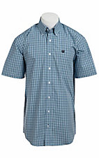 Cinch S/S Mens Fine Weave Shirt 1111059