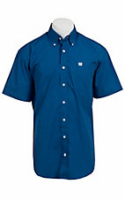 Cinch S/S Mens Fine Weave Shirt 1111060