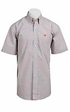 Cinch S/S Mens Fine Weave Shirt 1111061