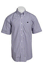 Cinch S/S Mens Fine Weave Shirt 1111063