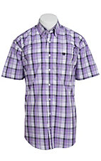 Cinch S/S Mens Fine Weave Shirt 1111064