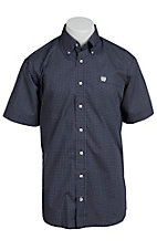 Cinch S/S Mens Fine Weave Shirt 1111065