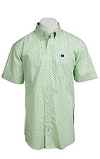 Cinch S/S Mens Fine Weave Shirt 1111070