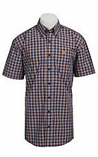 Cinch S/S Mens Fine Weave Shirt 1111071