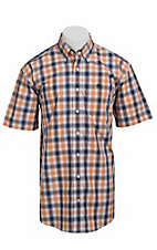Cinch S/S Mens Fine Weave Shirt 1111072
