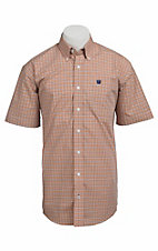 Cinch S/S Mens Fine Weave Shirt 1111073