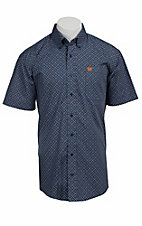 Cinch S/S Mens Fine Weave Shirt 1111074