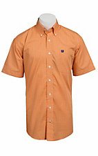 Cinch S/S Mens Fine Weave Shirt 1111075