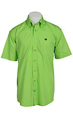 Cinch S/S Mens Solid Fine Weave Shirt 1111087