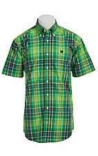 Cinch S/S Men's Fine Weave Shirt 1111088