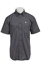Cinch S/S Men's Fine Weave Shirt 1111089