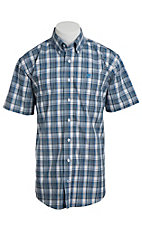 Cinch S/S Men's Fine Weave Shirt 1111097