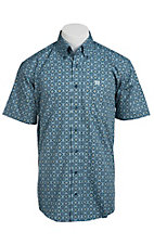 Cinch S/S Men's Fine Weave Shirt 1111099