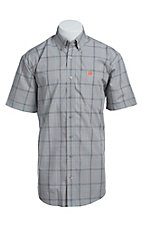 Cinch S/S Men's Fine Weave Shirt 1111101