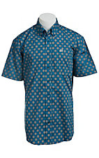 Cinch S/S Men's Fine Weave Shirt 1111105