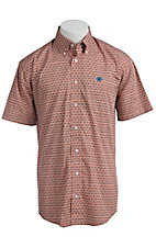 Cinch S/S Men's Fine Weave Shirt 1111106